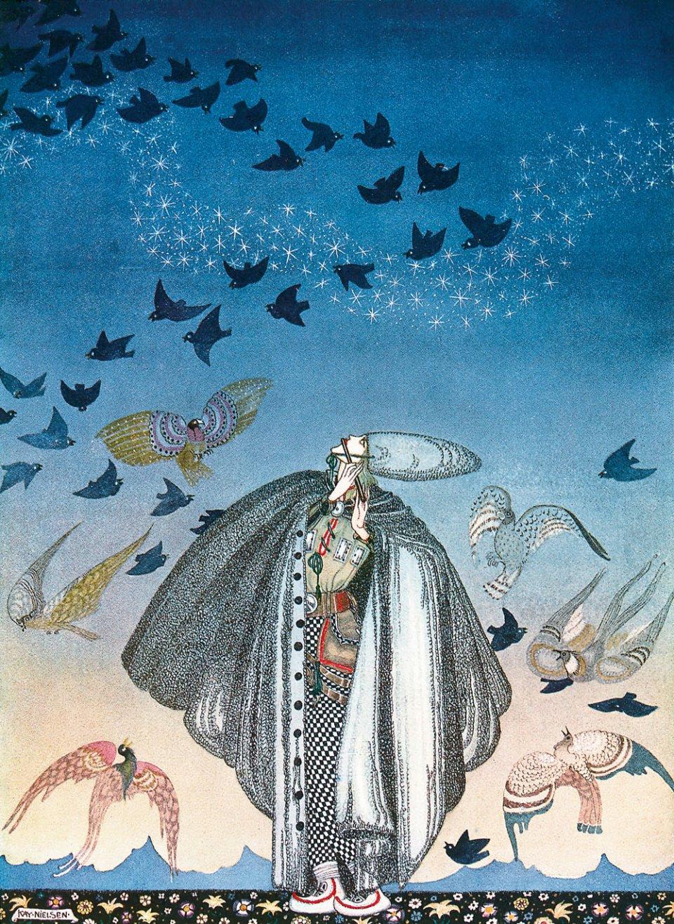 "Sun The Sun And Tarot On Pinterest: Kay Nielsen's Stunning Illustrations For ""East Of The Sun..."""