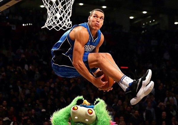 Aaron Gordon's best slam dunk in the whole world, ever.