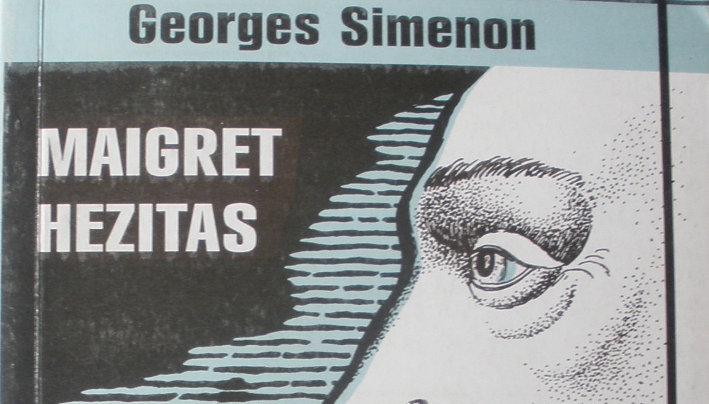 "Cover of ""Maigret hesitates,"" by George Simenon"