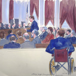 The Art of the Courtroom Sketch, and Other News