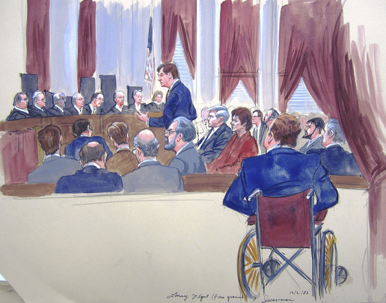 the library of congress and the art of the courtroom sketch