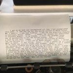 James Tate's Last Poem