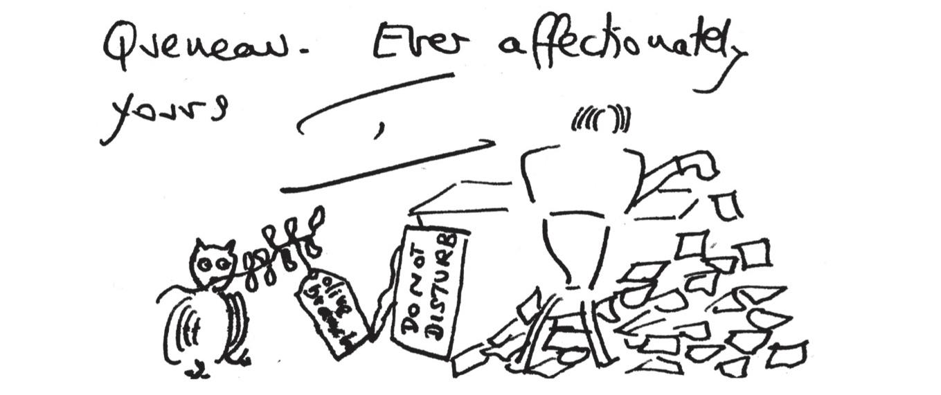 To Raymond Queneau (B)