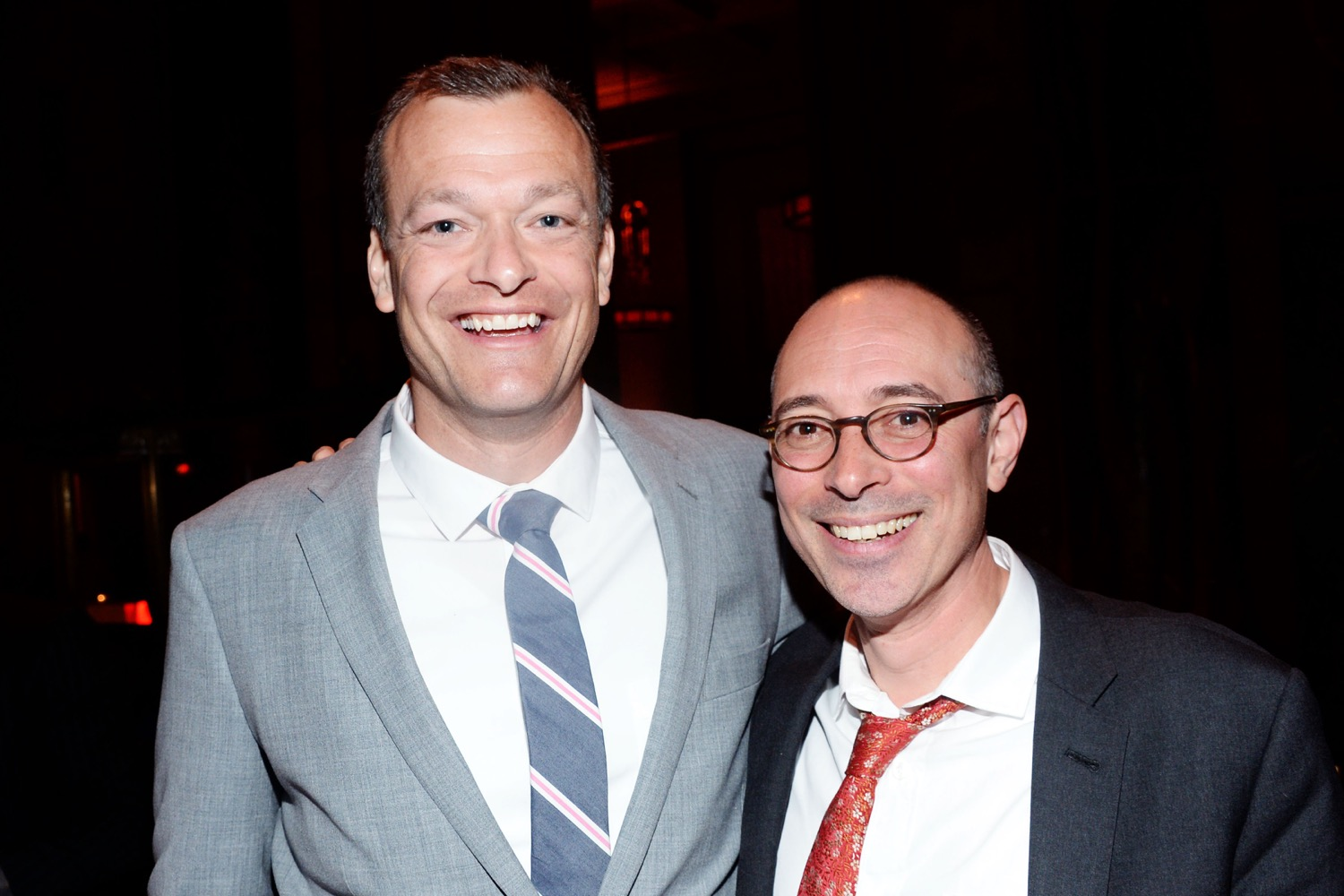 Chris Bachelder, Matt Weiland== The Paris Review 2016 Spring Revel== Cipriani 42nd Street, NYC== April 5, 2016== ©Patrick McMullan== Photo - Clint Spaulding/PMC==