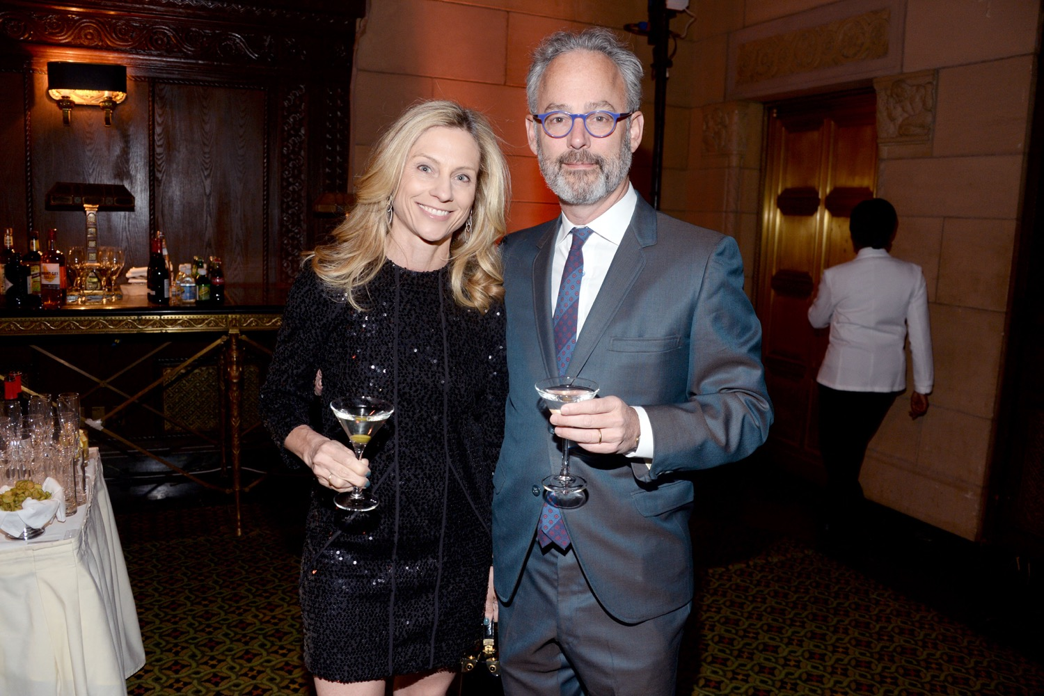 Maggie Towles, Amor Towles== The Paris Review 2016 Spring Revel== Cipriani 42nd Street, NYC== April 5, 2016== ©Patrick McMullan== Photo - Clint Spaulding/PMC==