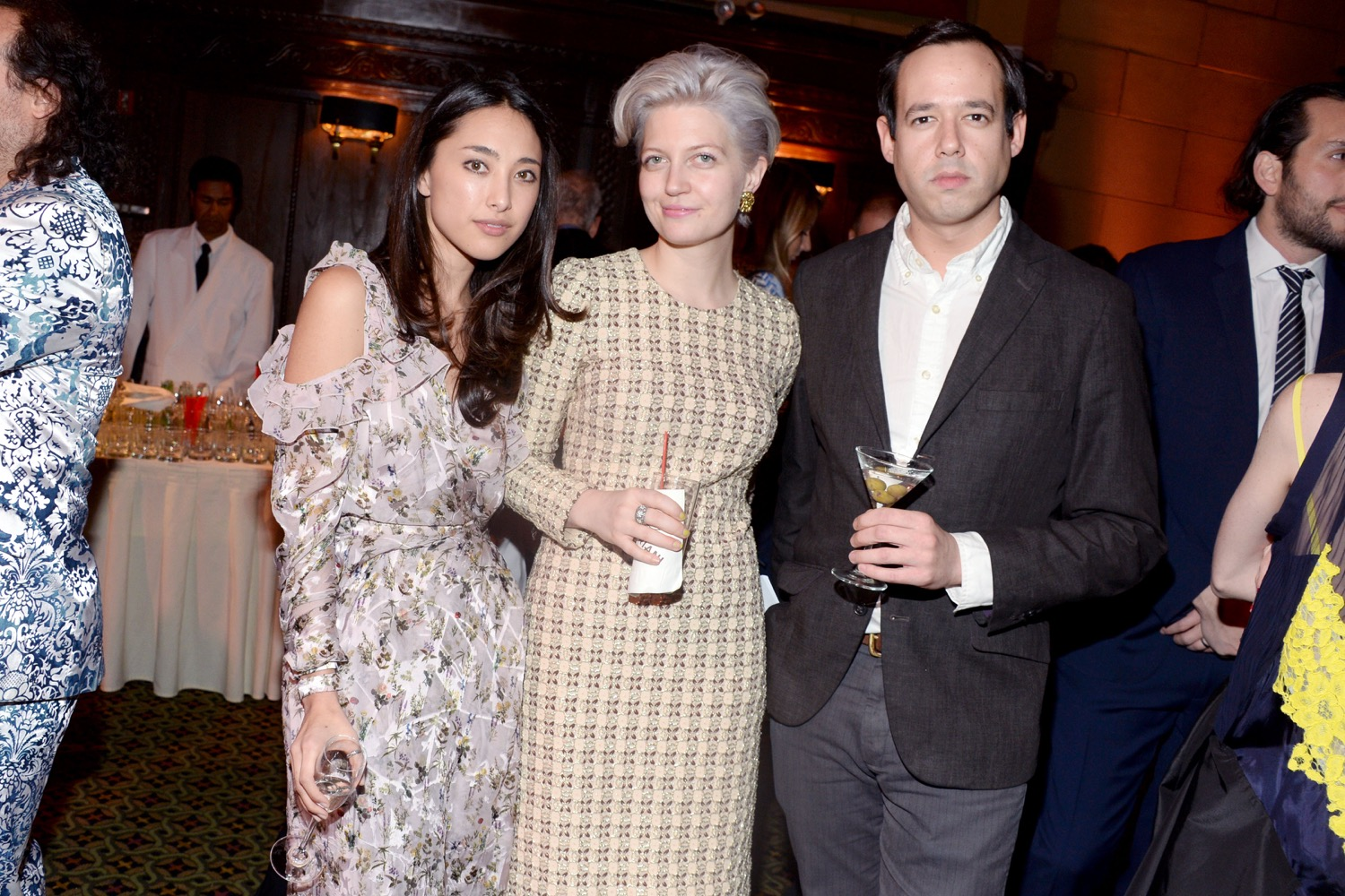 Alyssa Reeder, Rachel Tashjian, Nate Freeman== The Paris Review 2016 Spring Revel== Cipriani 42nd Street, NYC== April 5, 2016== ©Patrick McMullan== Photo - Clint Spaulding/PMC==