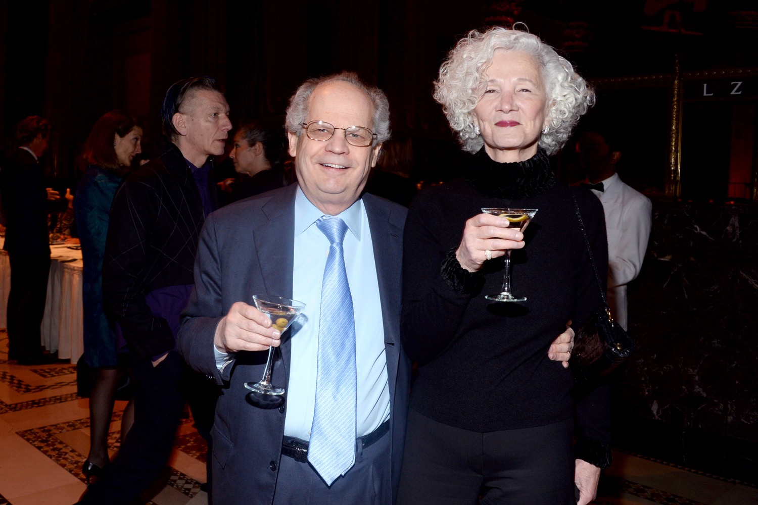 William Roseoff, Beverly Roseoff== The Paris Review 2016 Spring Revel== Cipriani 42nd Street, NYC== April 5, 2016== ©Patrick McMullan== Photo - Clint Spaulding/PMC==