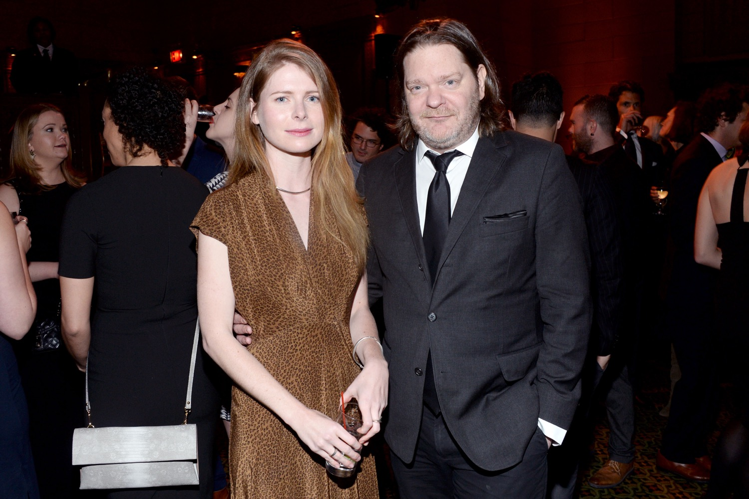 Emma Cline, Ben Metcalf== The Paris Review 2016 Spring Revel== Cipriani 42nd Street, NYC== April 5, 2016== ©Patrick McMullan== Photo - Clint Spaulding/PMC==