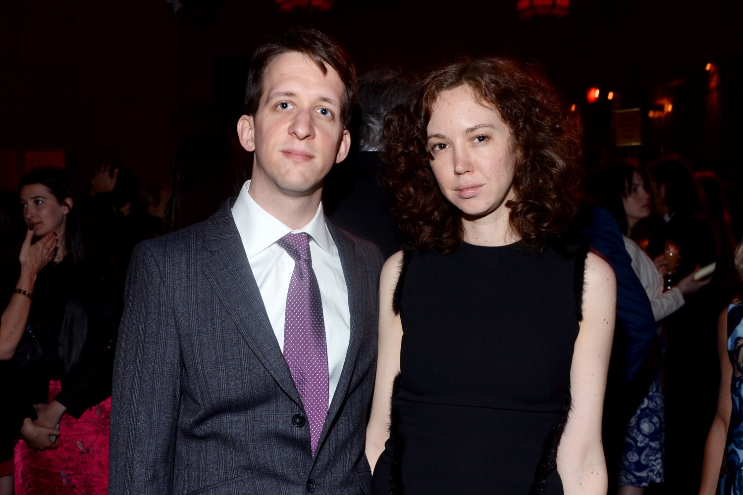 Dan Piepenbring, Natasha Stagg== The Paris Review 2016 Spring Revel== Cipriani 42nd Street, NYC== April 5, 2016== ©Patrick McMullan== Photo - Clint Spaulding/PMC==