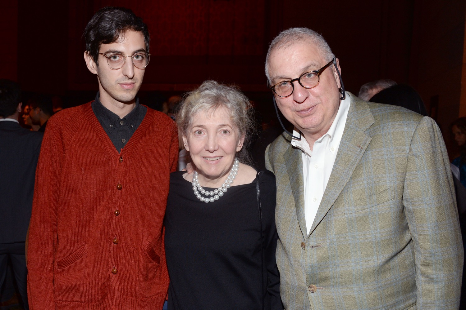 Hamilton Morris, Julia Sheehan, Erroll Morris== The Paris Review 2016 Spring Revel== Cipriani 42nd Street, NYC== April 5, 2016== ©Patrick McMullan== Photo - Clint Spaulding/PMC==