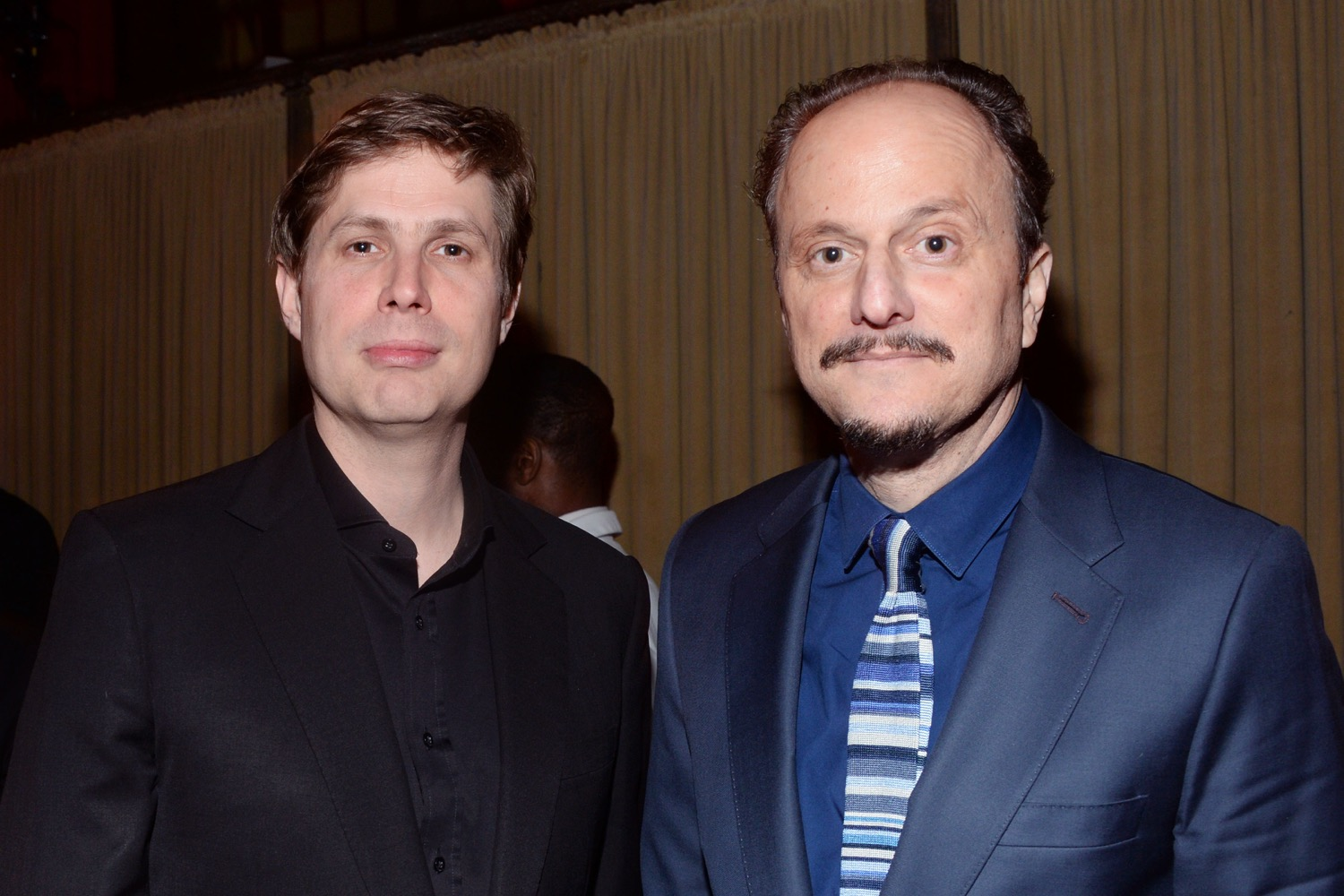 Jason Smith, Jeffrey Eugenides== The Paris Review 2016 Spring Revel== Cipriani 42nd Street, NYC== April 5, 2016== ©Patrick McMullan== Photo - Clint Spaulding/PMC==