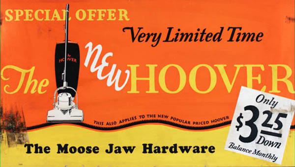 Vintage Hoover advertisement.