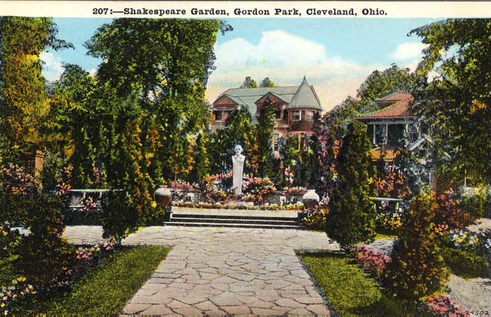 the history of the shakespeare garden