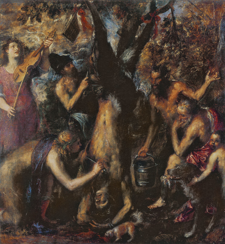 Titian, The Flaying of Marsyas.