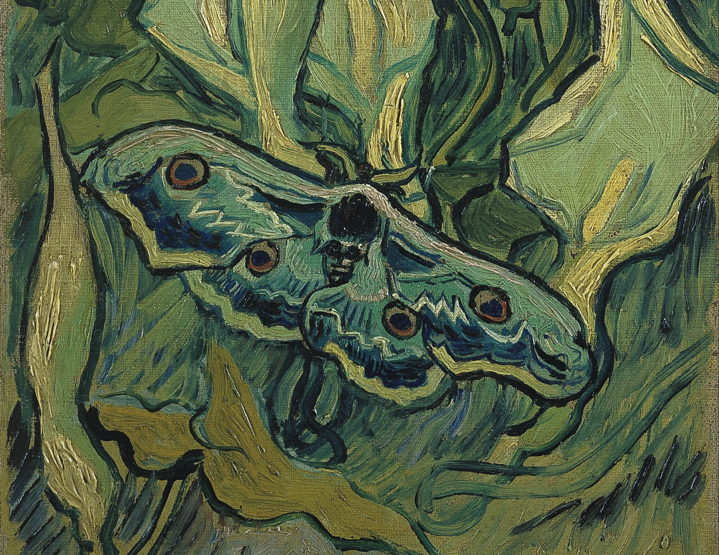 romantic poets and vincent van gogh essay The moths in the orchard squeal with each pass of the mistral wind yet the  reapers and their scythes, out beyond the pear trees, slay wheat in sure columns.