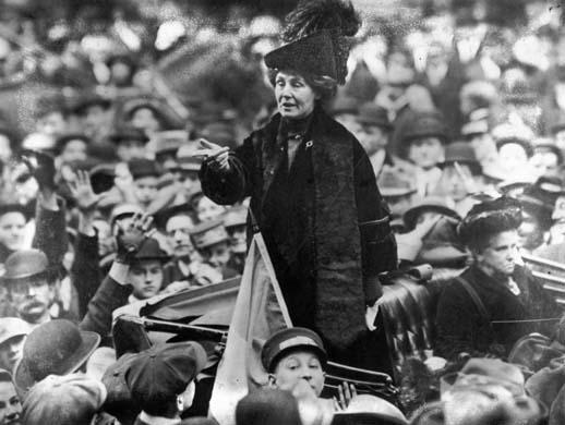 Emmeline Pankhurst, ca. 1911.