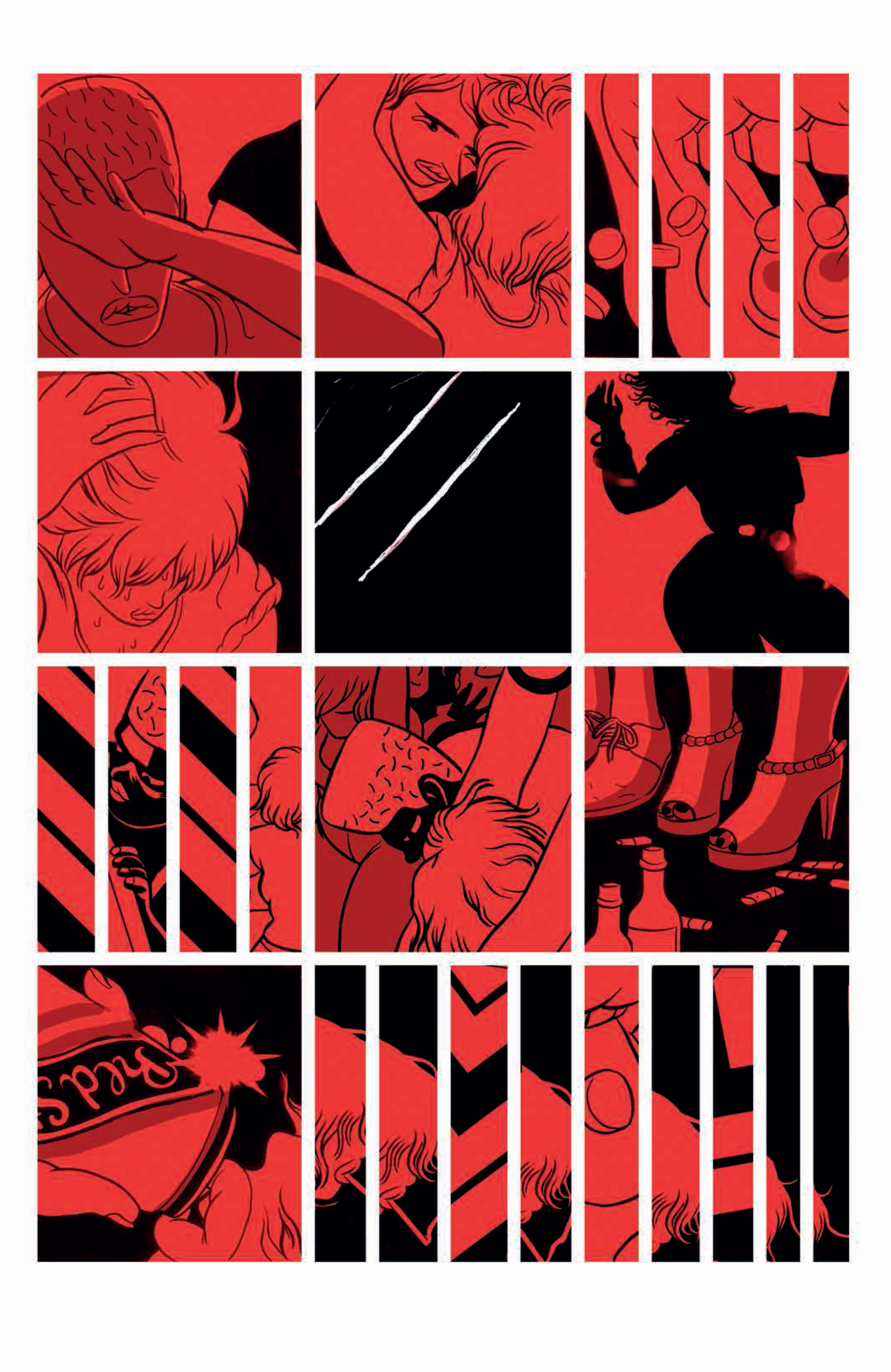 "From Dilraj Mann's ""Queue,"" issue #3."