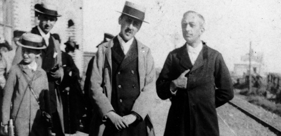 Marcel Proust in Cabourg, 1896.