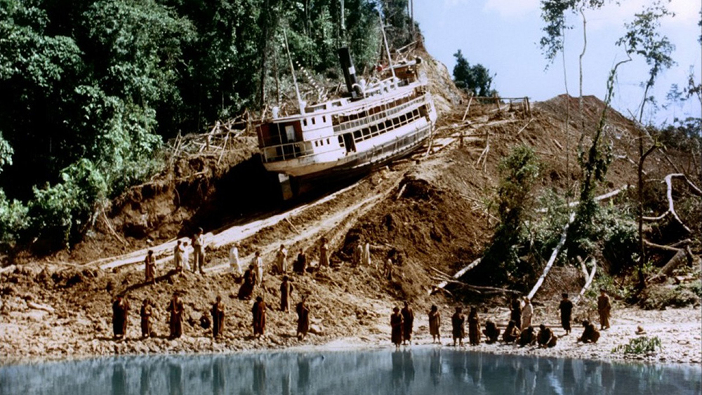 Still from Fitzcarraldo.