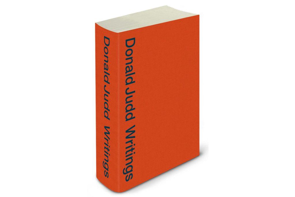 Donald Judd Writings