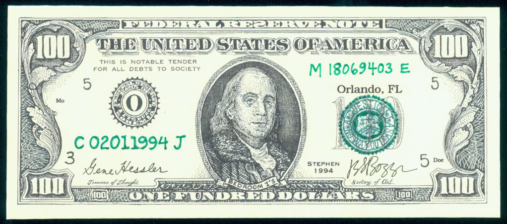 One Fundred Dollars: Remembering J S G  Boggs and His Fake Money