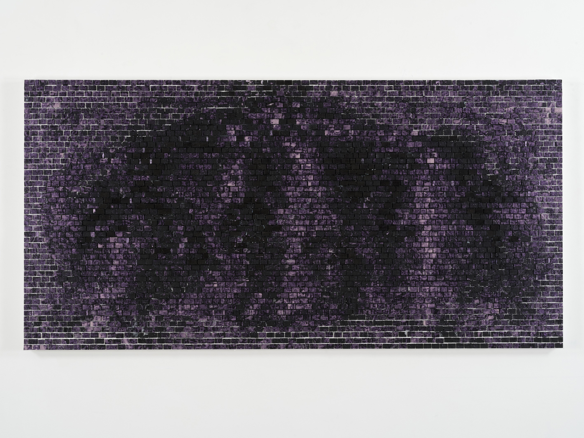 Simple Quantum Wall III The Geometry of Being An Octopus acrylic on canvas u x u Jack Whitten courtesy the artist and Hauser u Wirth
