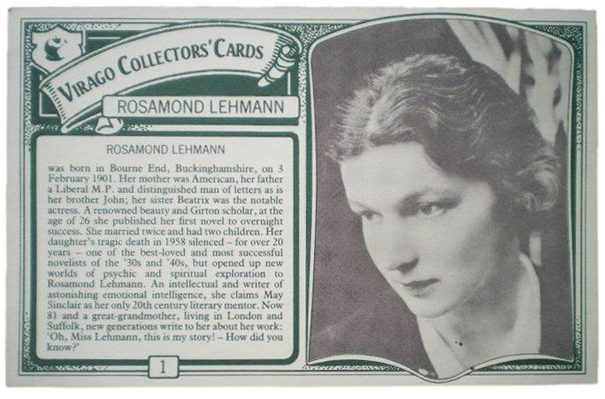 Rosamond Lehmann, Literary Star