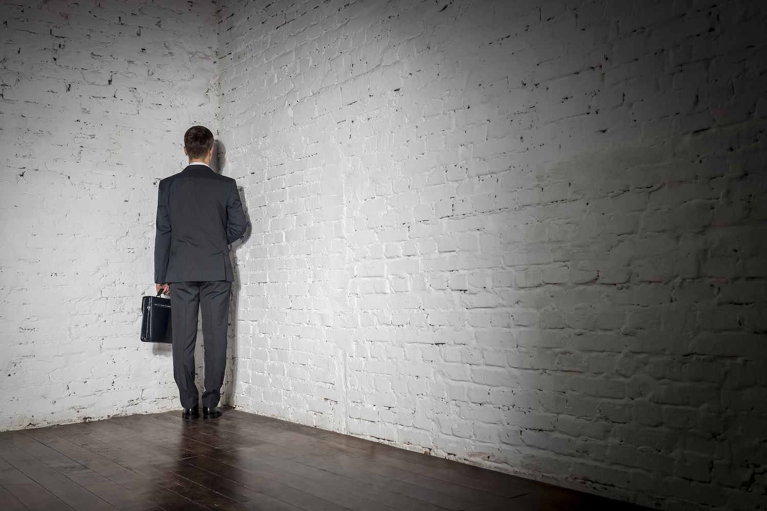 Standing In The Corner : Go stand in the corner and notice how powerful it is over
