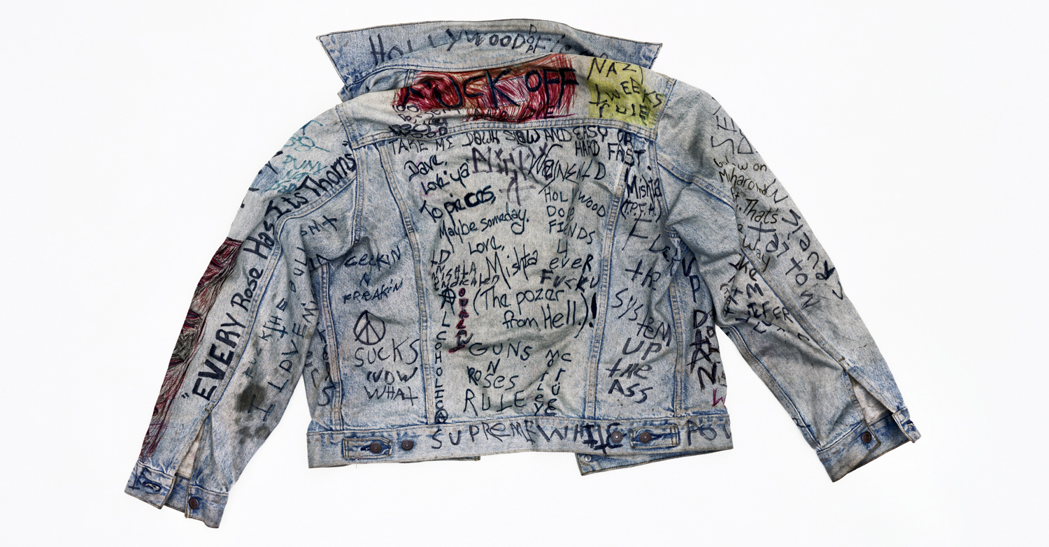 Dave's Jacket, Hollywood. 1991.