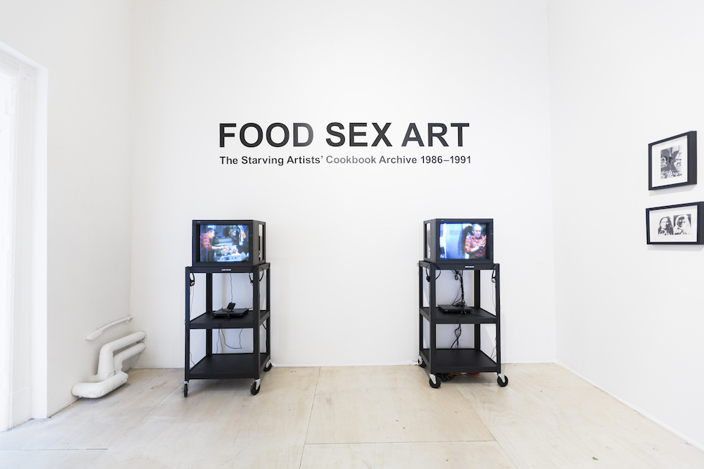 Food sex art the starving artists cookbook