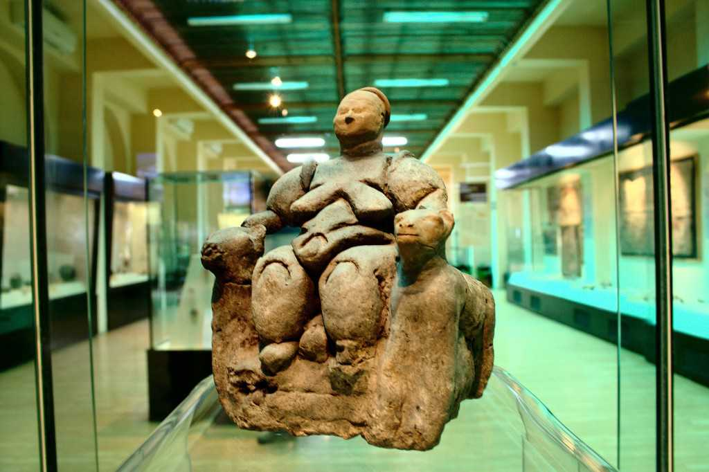 At the Museum of Anatolian Civilizations