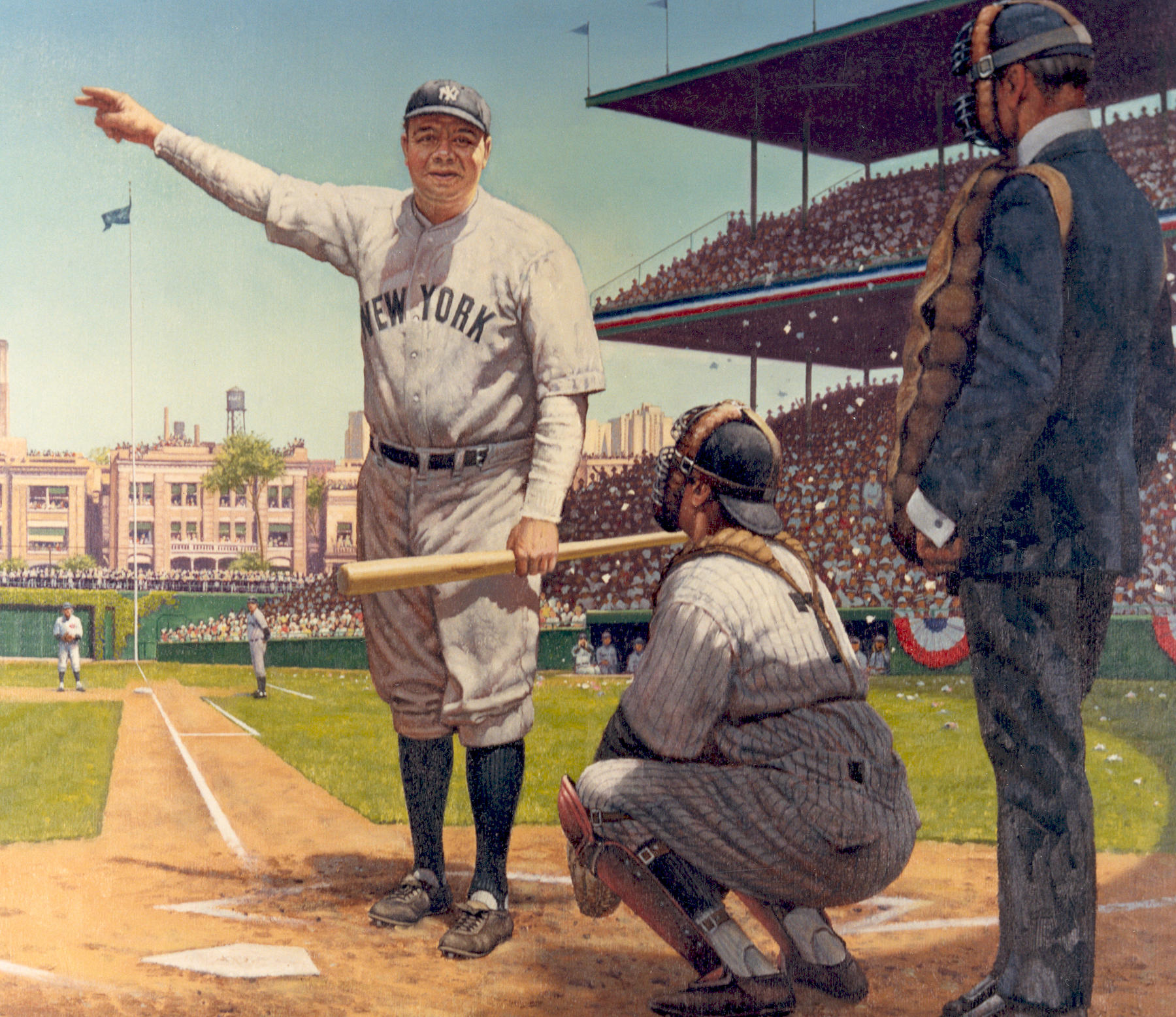 Why was babe ruth called the great bambino-2972