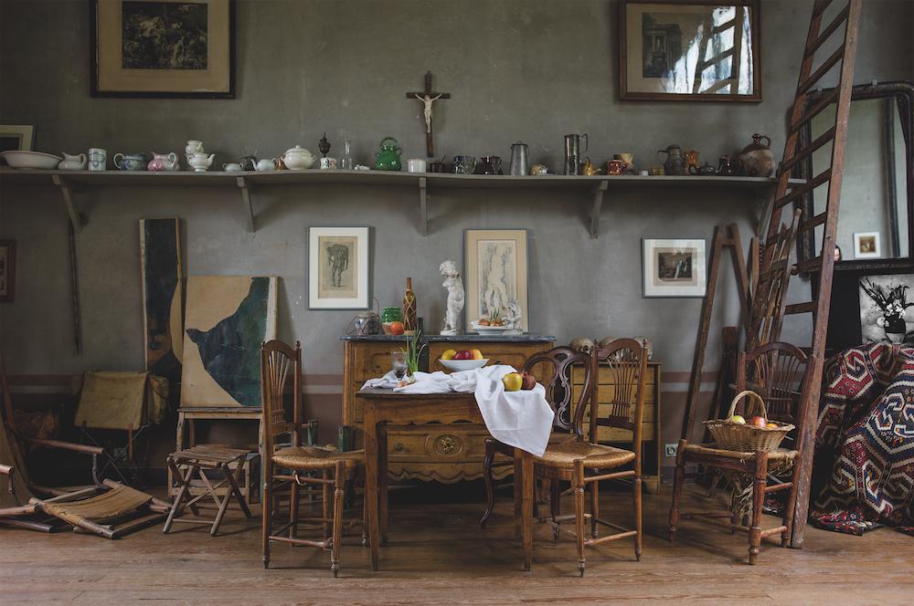 Paul Cézanne's art studio