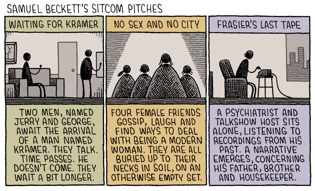 Samuel Beckett's Sitcom Pitches