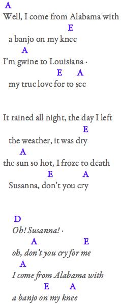 On Oh Susanna