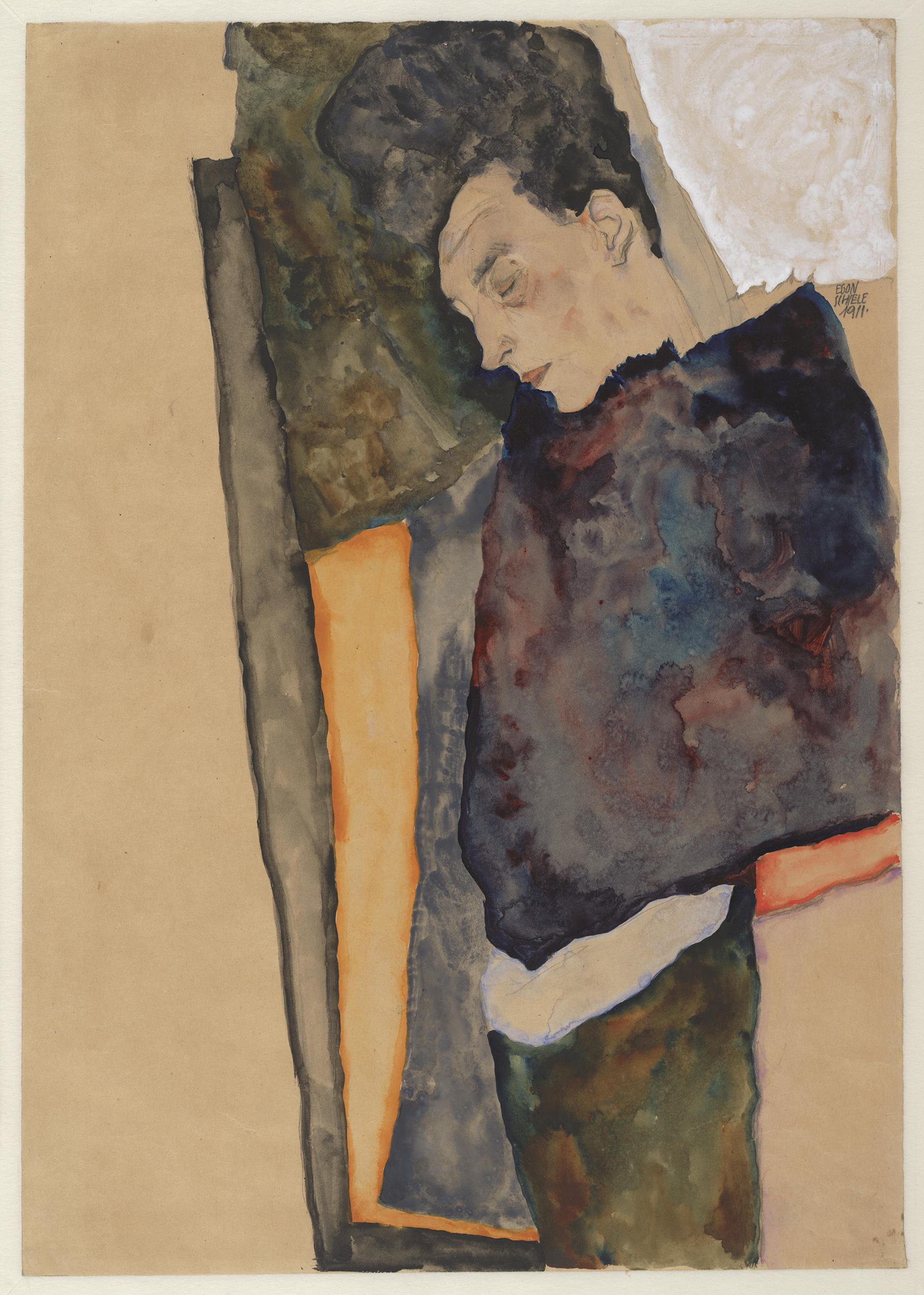 Gustav Klimt And Egon Schiele In Conversation
