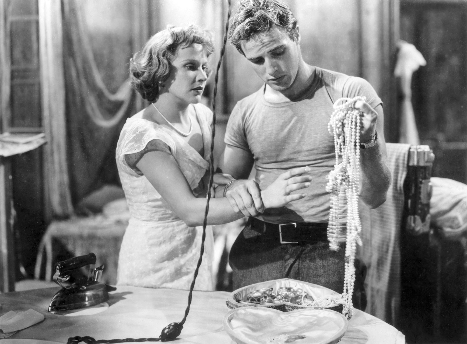 going through blanche dubois s luggage arts culture still from a streetcar d desire