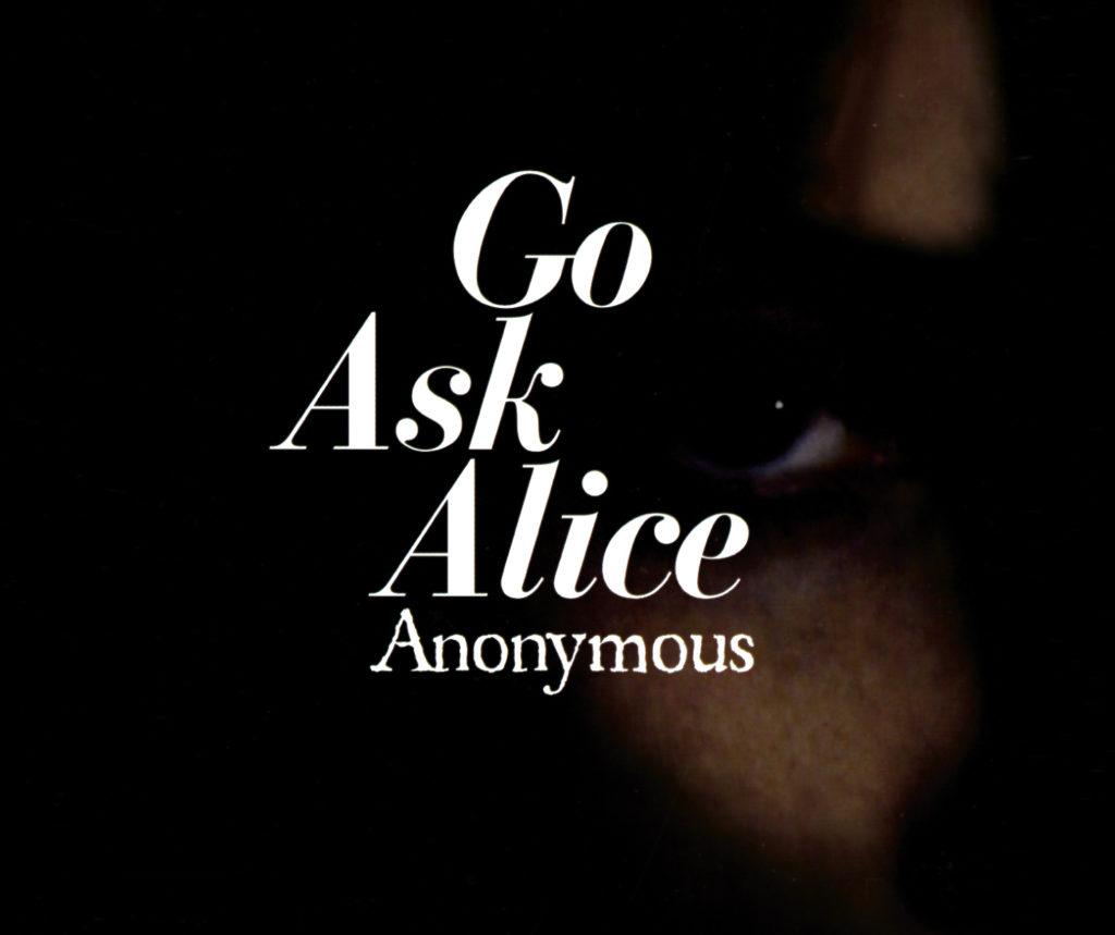 Go ask alice essay
