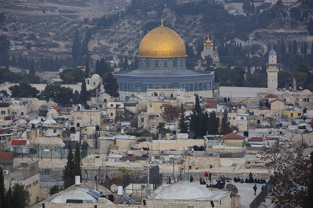 Writing Fiction in the Shadow of Jerusalem