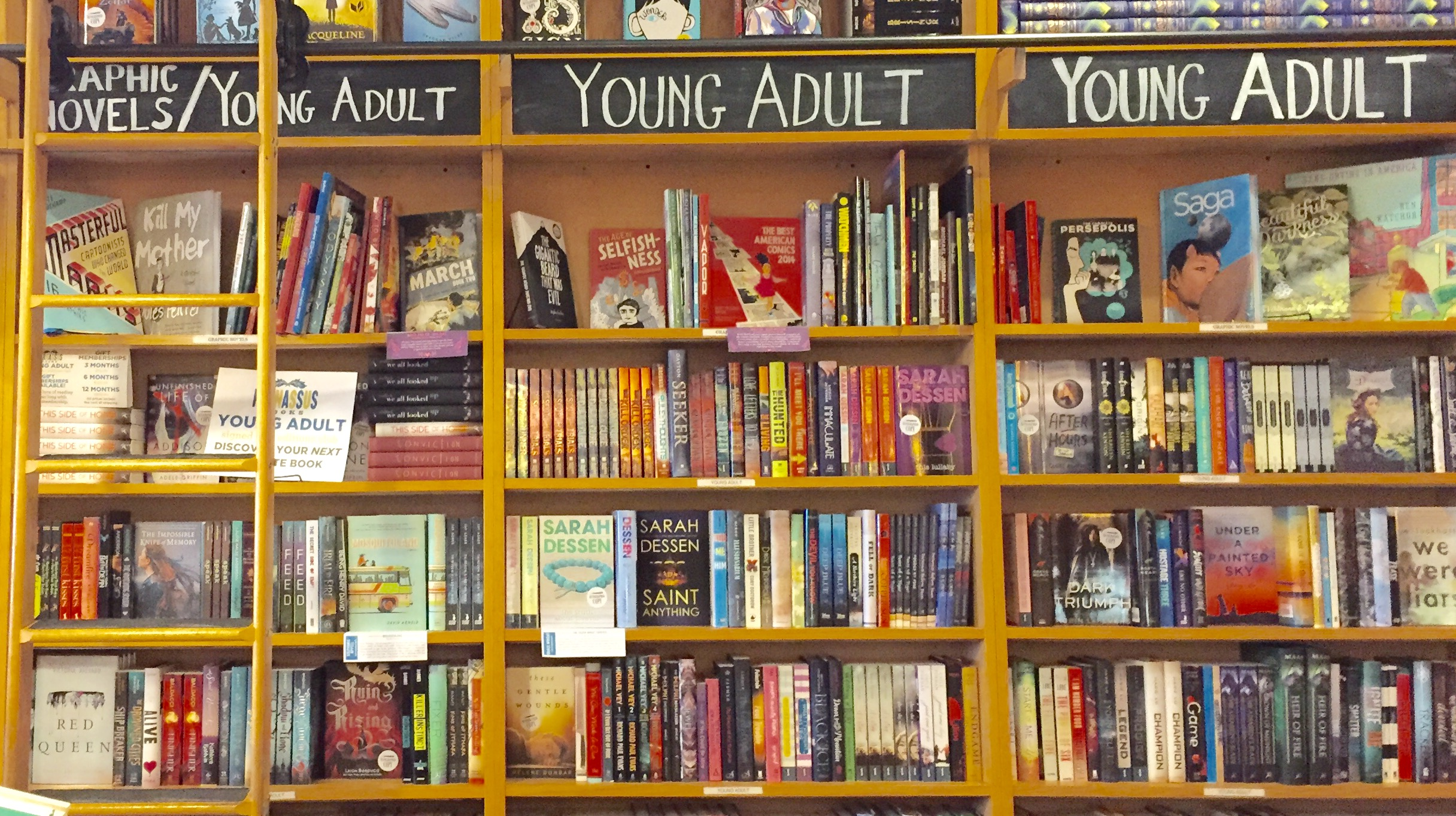 Can Popular young adult fiction books remarkable topic