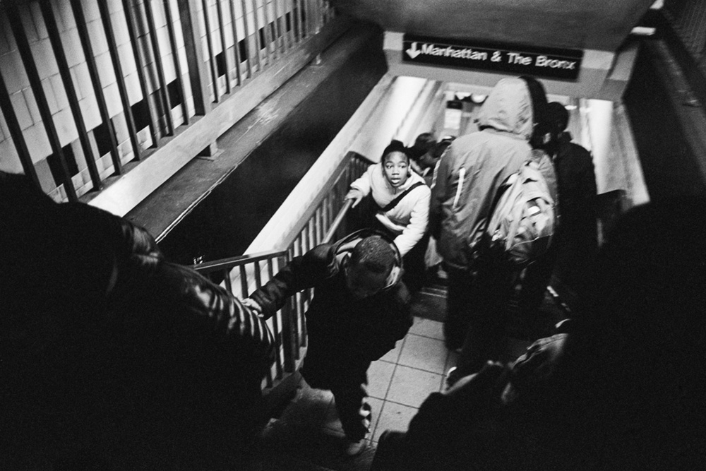 Here for the Ride: Andre D. Wagner's Subway Photographs