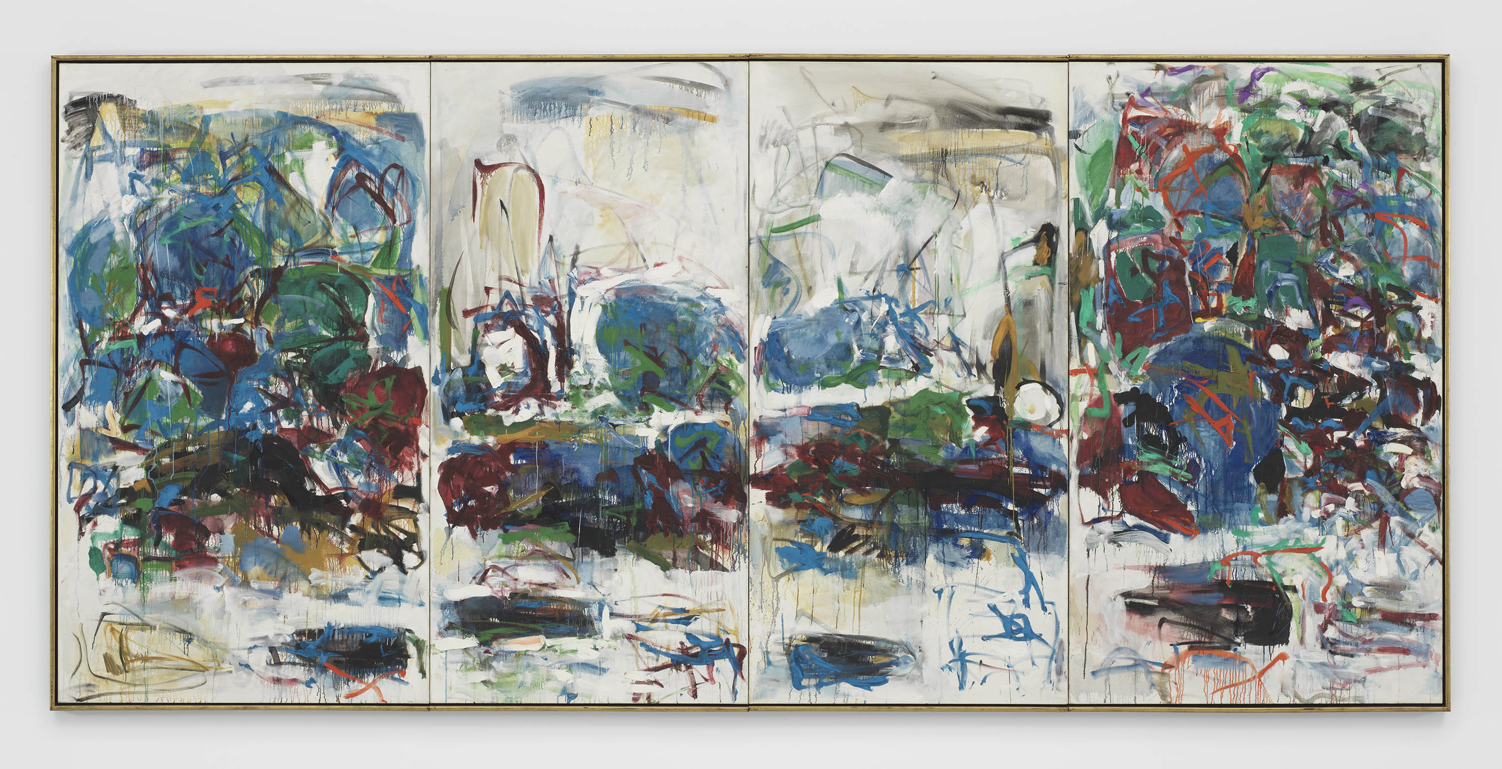 Angry Painter 2016 on wingspan: joan mitchell's reach