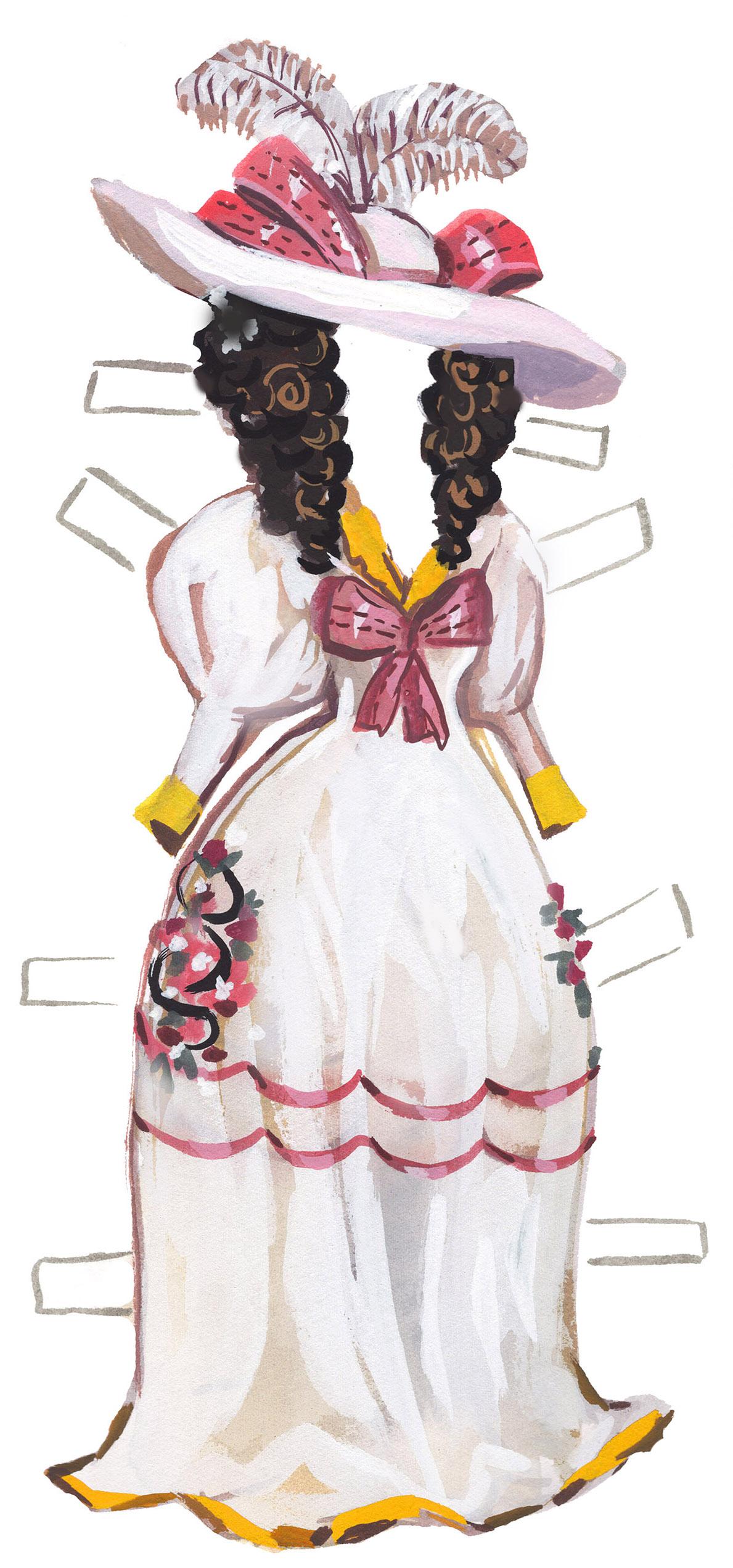 Literary Paper Dolls: Rebecca