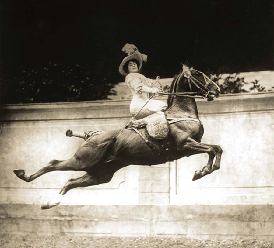 The Horsewomen of the Belle Époque