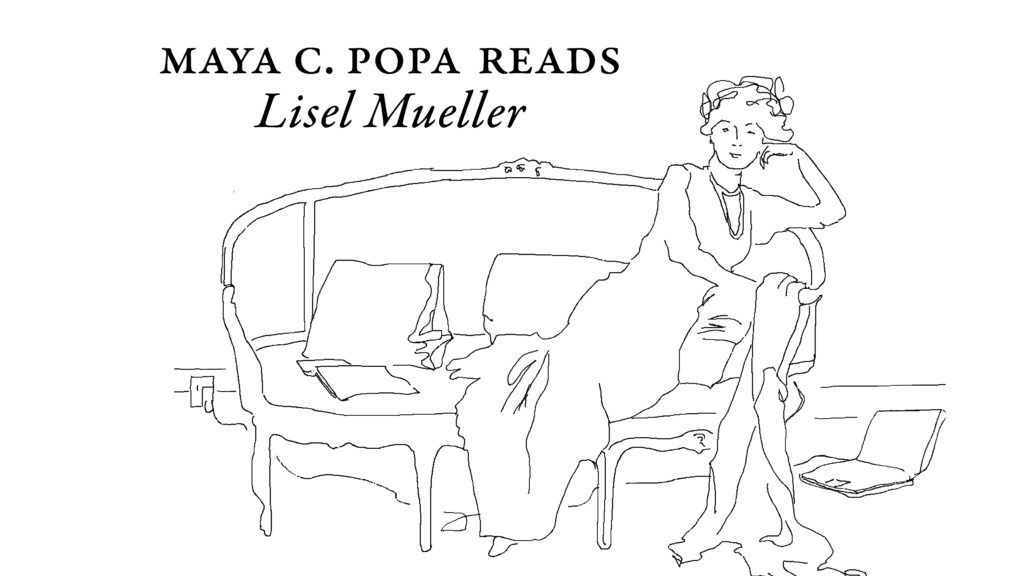 Poets on Couches: Maya C. Popa