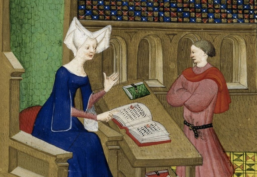 A Medieval Mother Tries Distance Learning