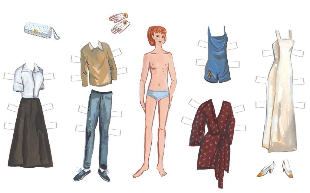 Literary Paper Dolls: Cassandra