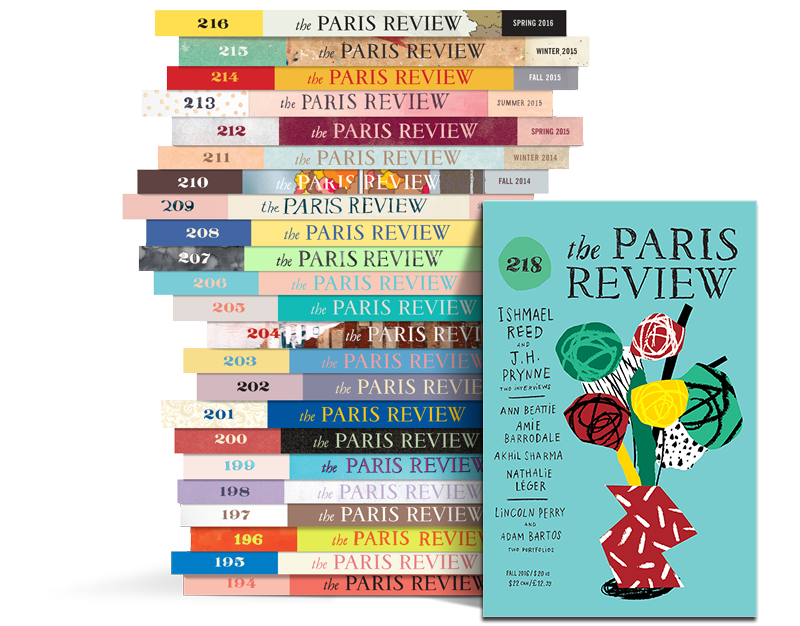 Paris Review Stack 218
