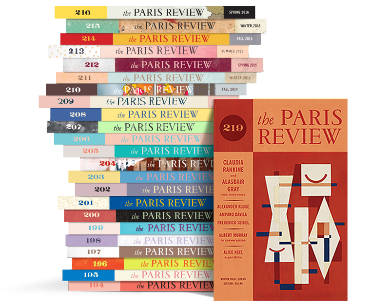 Paris Review Stack 219