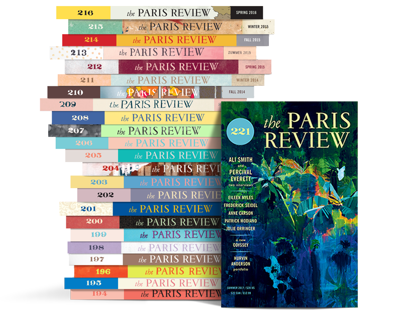 Paris Review Stack 221